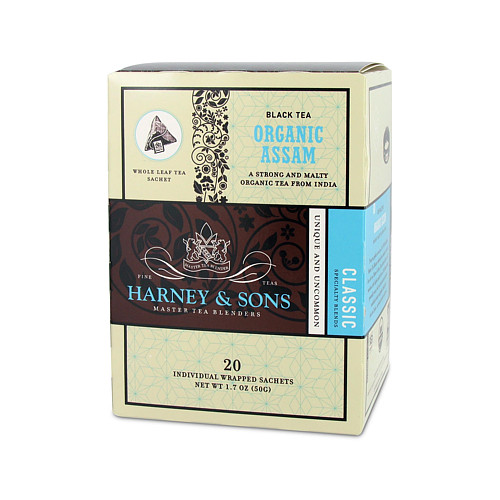 harney and sons hot organic assam